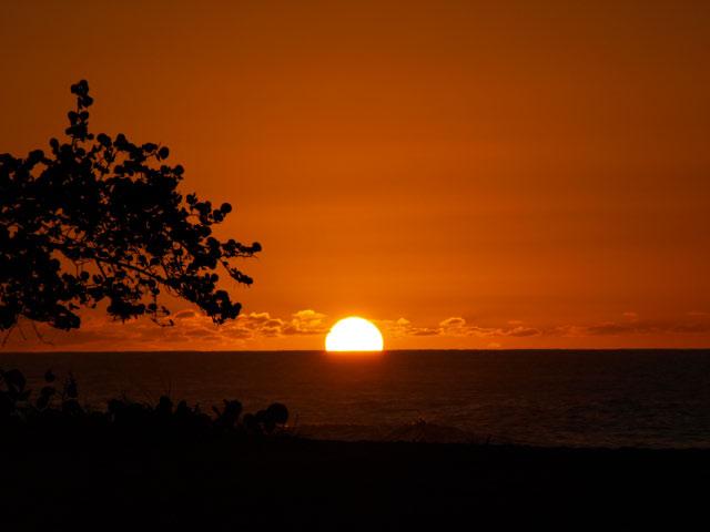 Photos de la guadeloupe - Coucher de soleil en guadeloupe ...