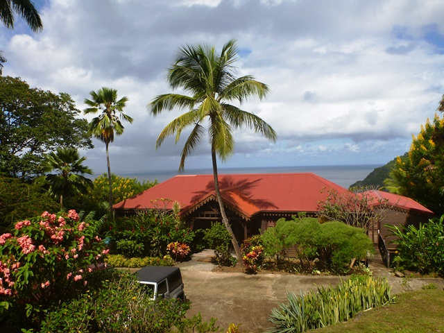Villa Du Jardin Botanique A Deshaies En Guadeloupe